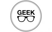 Crachá 58mm: Geek